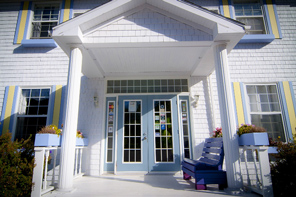 Cycle Trip to Canada's Nova Scotian Cabot Trail, Beautiful Hotel
