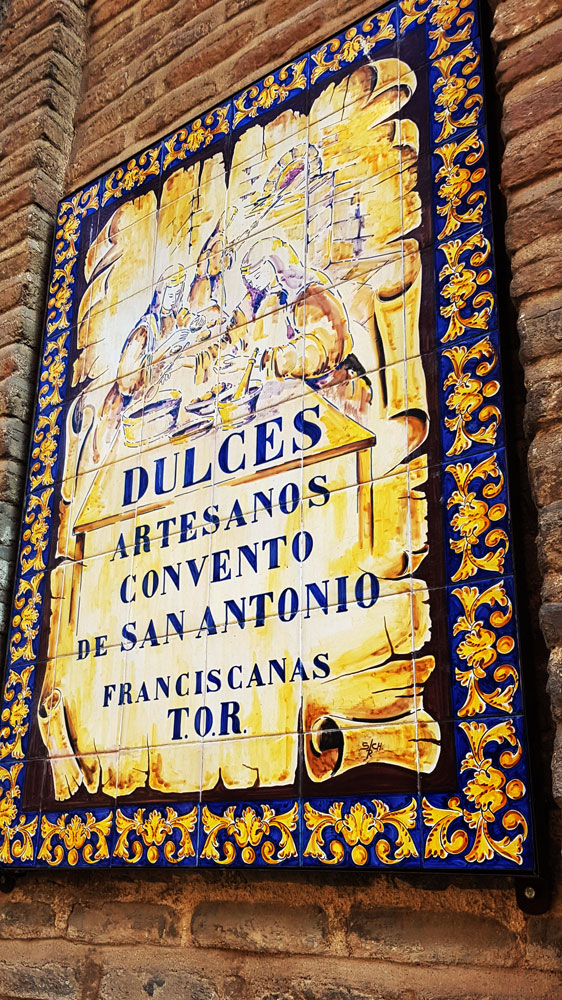 Convent Sweets for sale in Toledo, Spain