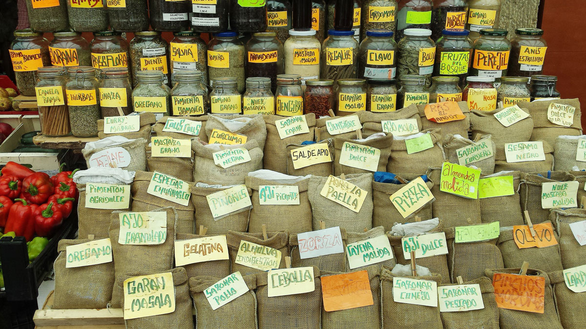 Spanish Spices to make a paella with