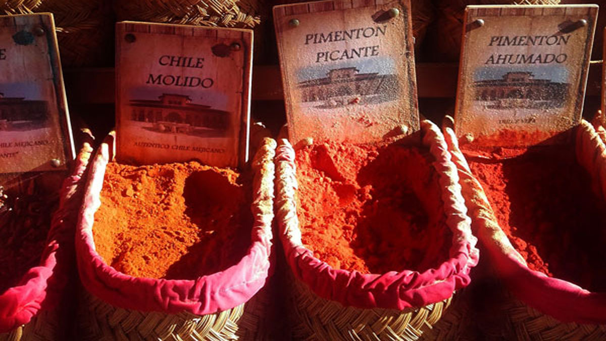Spices to make Paella
