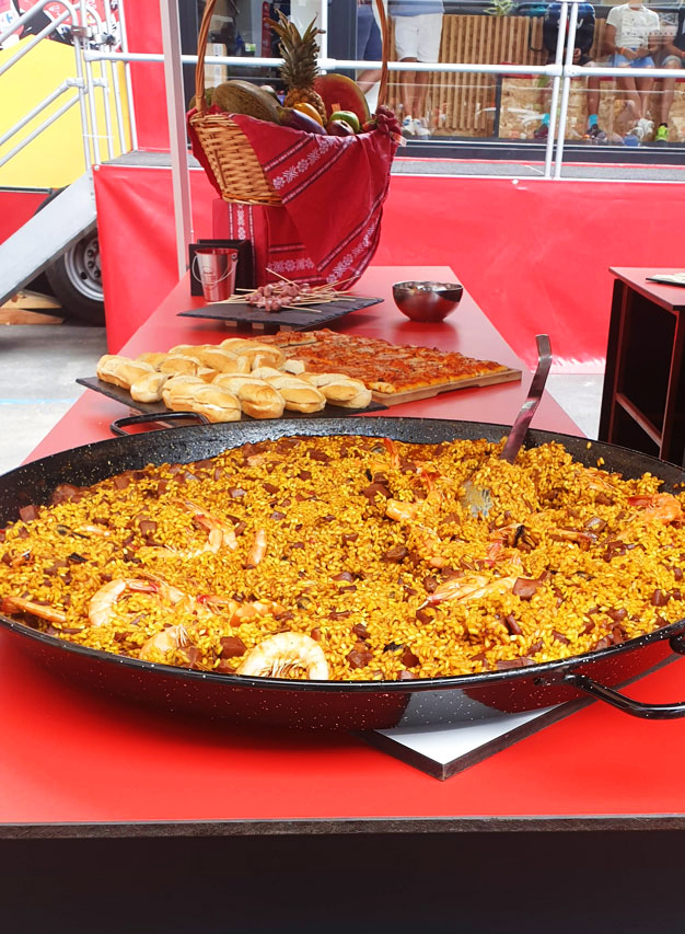 Spanish Paella, the famous dish from Valencia