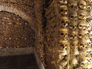 Best towns to visit in Portugal's Alentejo, Evora's Chapel of Bones