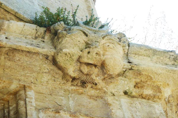 Medieval Sculpture on Alhama's church