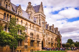 SelfGuided Cycling Vacation in Oxford, University Building