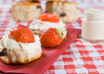 Traditional English Baking - Scones and Clotted Cream