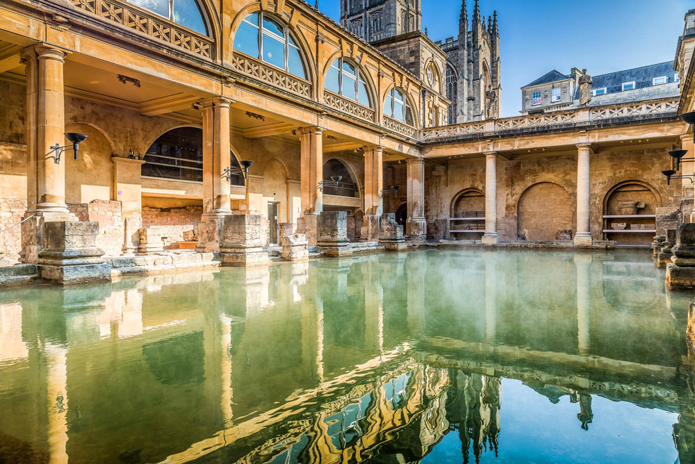 To Reason to visit bath - The Roman Baths | Courtesy of VisitBath