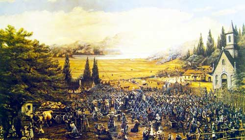 The Great deportation of the Acadians