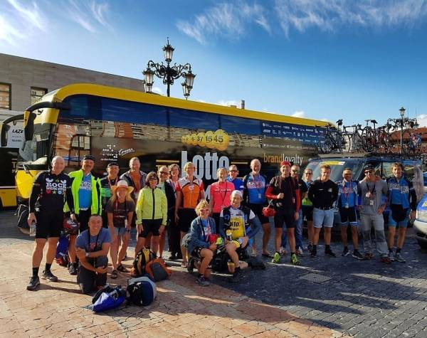 Vuelta Bike Tour with ProTeams